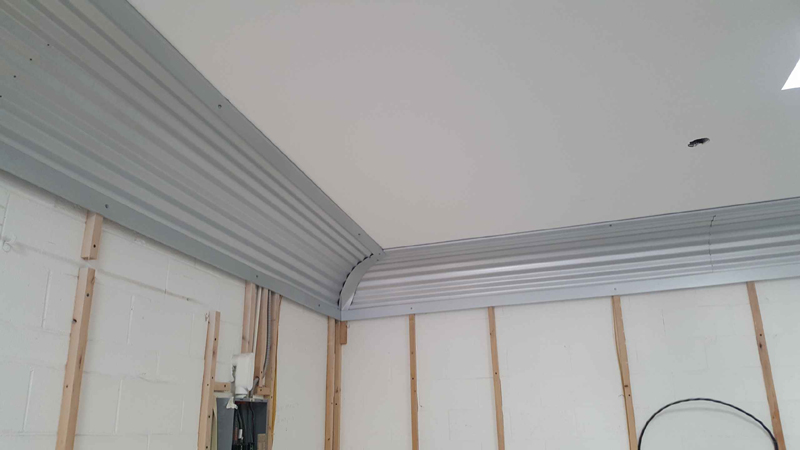 Corrugated Crown Molding