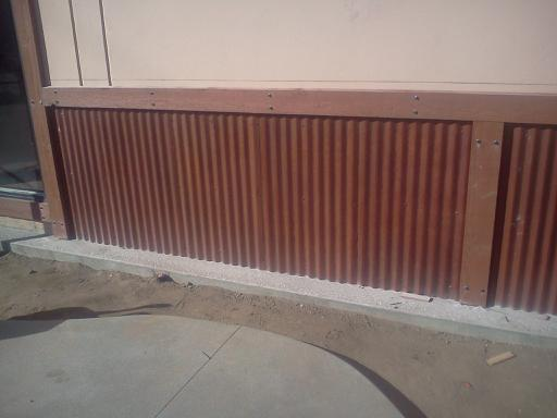 1/2 Inch Corrugated Weathering Panel