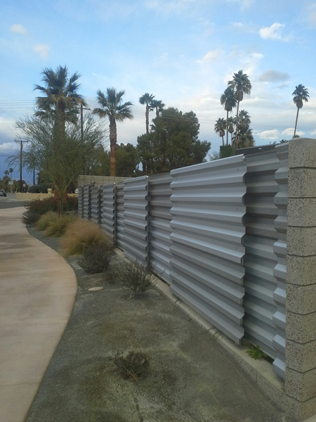 Palm Springs Fence