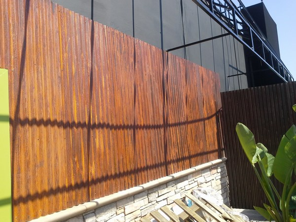 Weathering Steel In Bar
