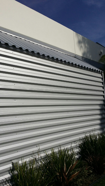 Western Rib Zinc Wall Cladding