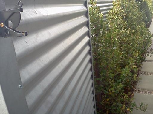 Zincalum Fence